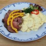 Roastbeef med kartoffelsalat - Kokken